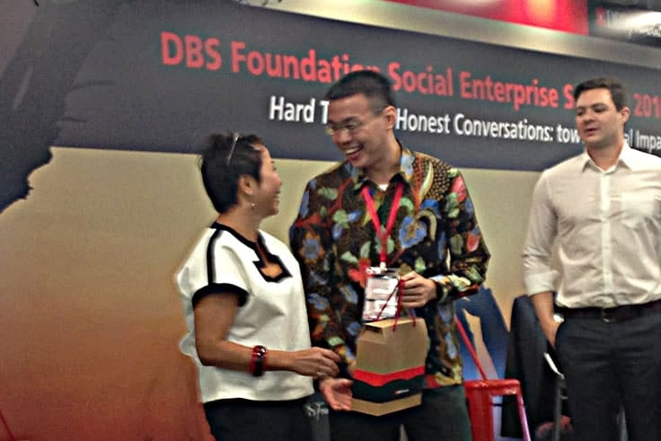 DBS Foundation Social Enterprise Summit 2016 客製禮盒